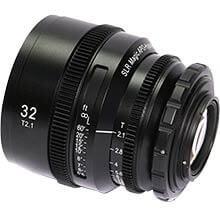 APO HyperPrime CINE APO32PL Lens with EF Adapter